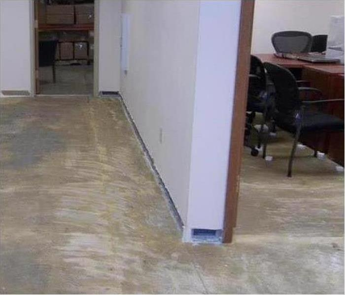 Commercial Water Damage – Cutler Bay Offices After