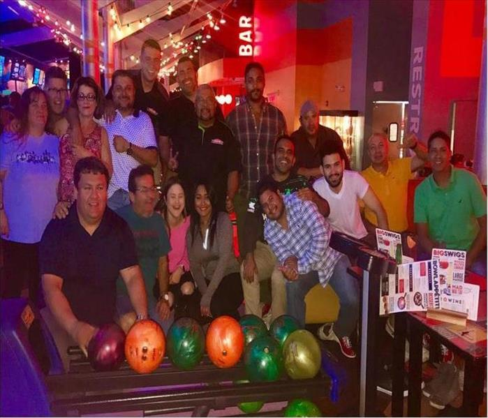 SERVPRO of Cutler Bay Goes Bowling