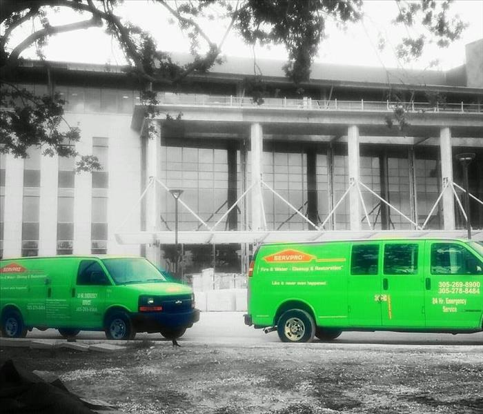 SERVPRO Provides Commercial Services