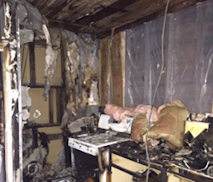 Fire Damage – Cutler Bay Kitchen
