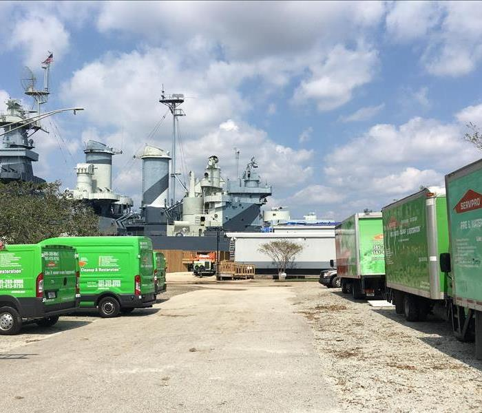 Storm Damage Our SERVPRO of Cutler Bay Team Travels to North Carolina After Hurricane Florence